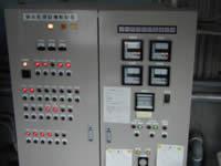 全自動排水処理設備の制御盤